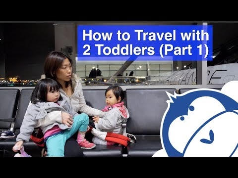 How to Travel with 2 Toddlers - Toddler Travel Tips (Part 1 of 2)