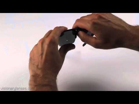 Oakley Half Jacket 2.0 Lens Installation Video // Visionary Lenses