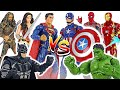 Who Will Win Marvel Avengers VS DC Justice League Battle DuDuPopTOY