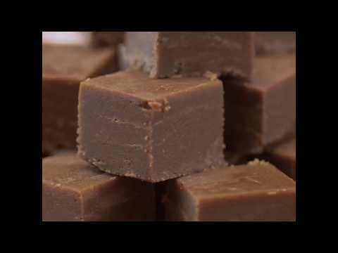 Cannabis chocolate and peanutbutter fudge!