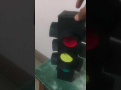 Traffic signal model for kids