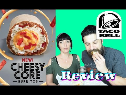 Taco Bell - NEW Spicy Cheesy Core Burrito - REVIEW
