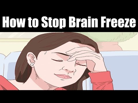 How to Stop Brain Freeze | Cure a Brain Freeze Instantly