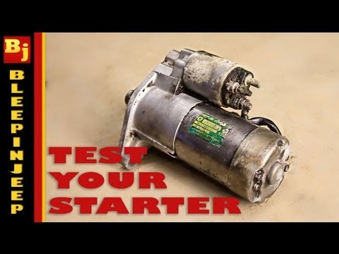 My Car Wont Turn Over - How To Test The Starter / NSS / Ignition Switch