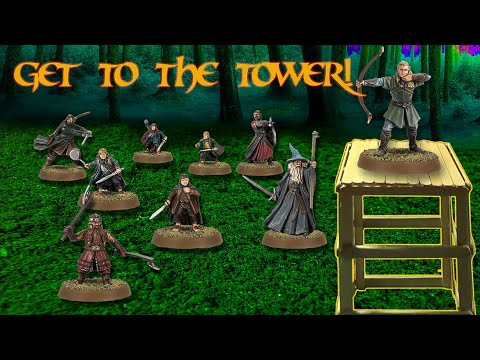 Popsicle Stick Creations - Guard Tower