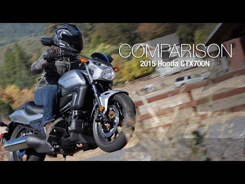 2015 Honda CTX700N vs Vulcan S Comparison Part 1 - MotoUSA