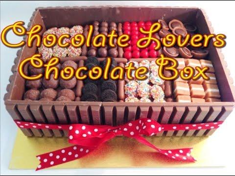 Chocolate Lovers Chocolate Box Cake (How to make)