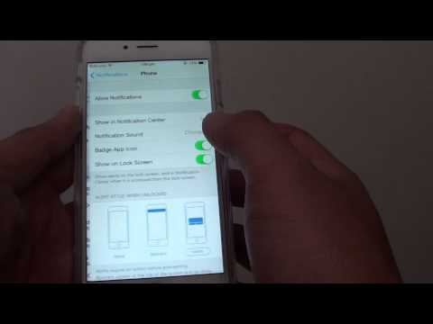 iPhone 6: How to Change Number of Phone Call Details Display on Notification Center