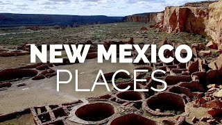 10 Best Places to Visit in New Mexico - Travel Video
