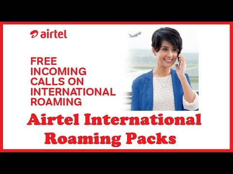 Airtel International Roaming Packs