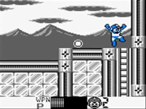 Mega Man Reloaded GB (WIP) - Ice Man Graphics Demo