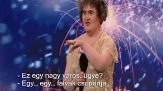 Susan Boyle - I dreamed a dream - magyar felirattal