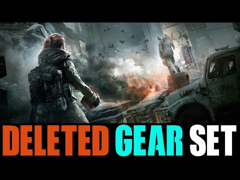THE DELETED GEAR SET MOST OF YOU DON'T REMEMBER... (THE DIVISION)