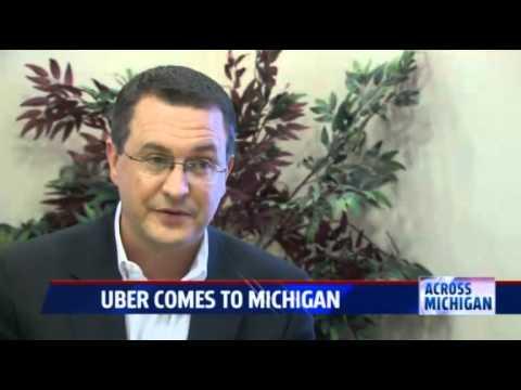 Uber Concerns - Tom Sinas Interview, Fox 17 West Michigan