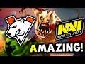 VP vs NAVI - AMAZING GAME! - LEIPZIG MAJOR DreamLeague 13 DOTA