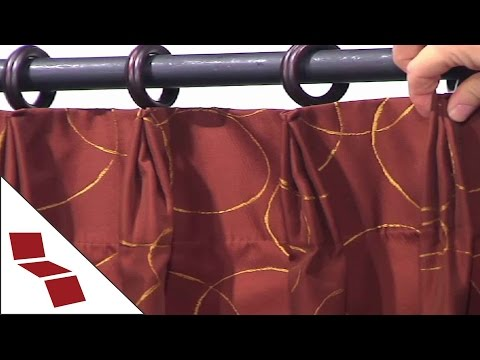 Custom Euro Pinch Pleat Drapes from Cushion Source
