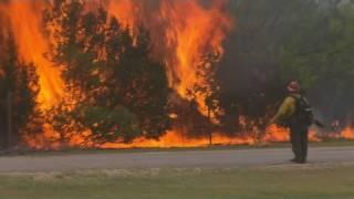 CNN: Texas wildfires still rage