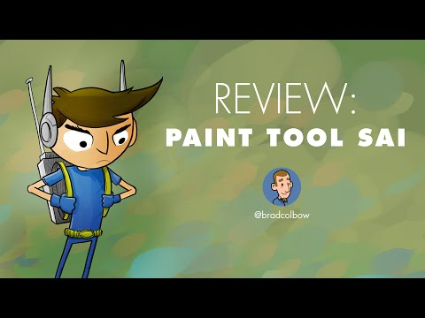 Review of Paint Tool SAI