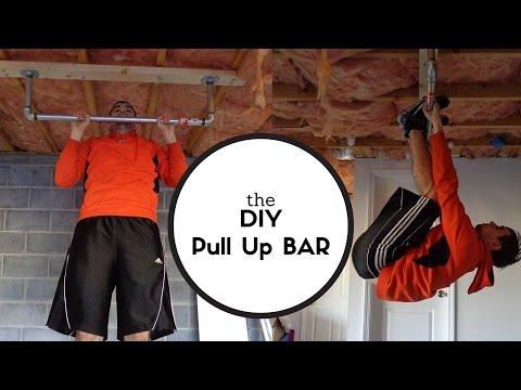 Building a Rock Solid Pull Up Bar! #DIY