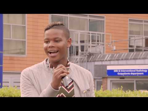 Donel from 'The Voice' visits UHS on Open Day 2018