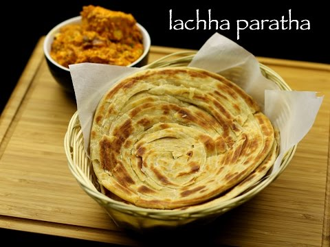 lachha paratha recipe | lachha parantha recipe