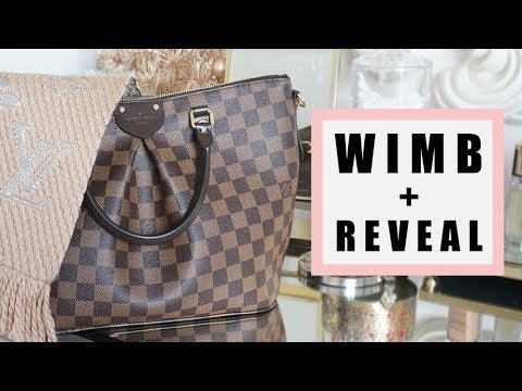 What's in my bag + Reveal! (Louis Vuitton Siena MM)