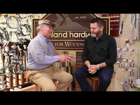 Highland Woodworking 40th Anniversary Celebration with Nick Offerman, Roy Underhill and More!