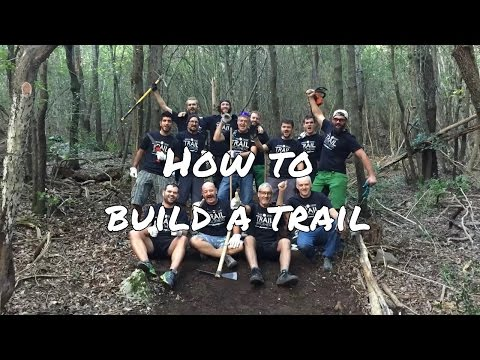 How to build a trail - Islandhopping guides becoming Trail brothers Tuscany