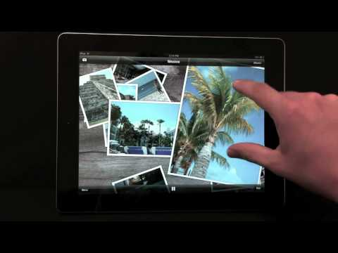 Play Interactive Slideshows with your Music Library on Photo Table for iPad