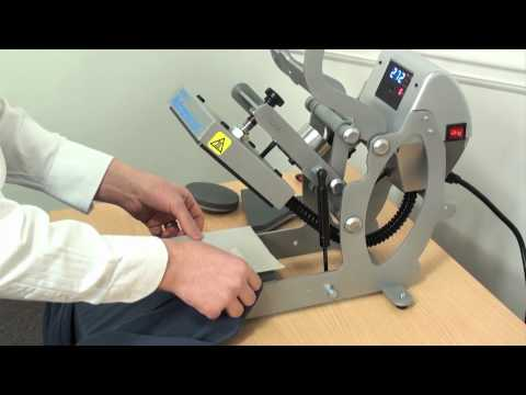 clothing label printing system demonstration