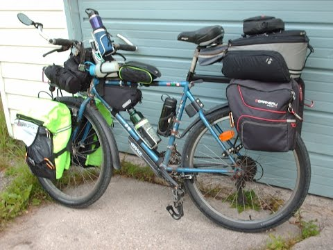 Bicycle Touring Equipment Video