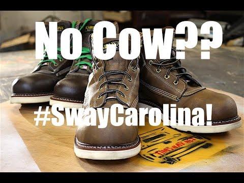 I Made My Own Non-Leather Carolina Boots! #SwayCarolina