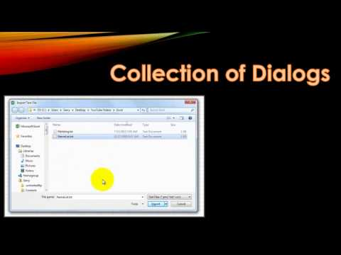 Calling Excel's Dialog Boxes with VBA