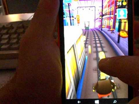 Nokia Lumia 630 - Game - Subway Surfers - New Orleans