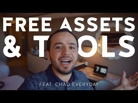 Free Assets and Tools for Video Creators