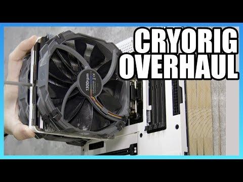 Cryorig Overhauls CPU Coolers | R5 & H7 Computex 2018
