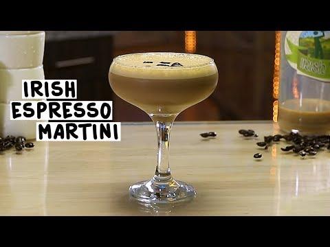 Irish Espresso Martini - Tipsy Bartender