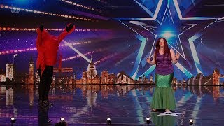 Britains Got Talent 2020 Katherine and Joe O'Malley Perform The Little Mermaid Full Audition S14E0
