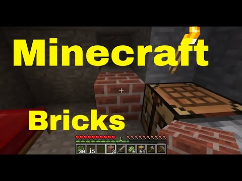 Minecraft: How to Make Clay and Stone Bricks
