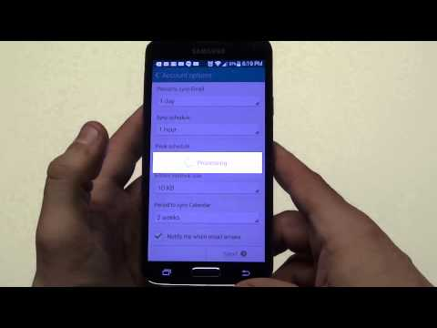 How To Set Up Email Accounts On Your Samsung Galaxy S5 - Fliptroniks.com