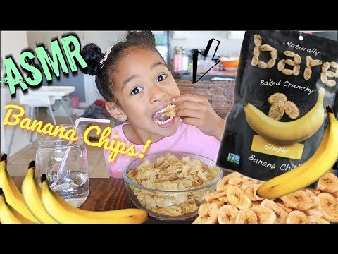 BANANA CHIPS ASMR!! *EXTREME CRUNCHY EATING SOUNDS*