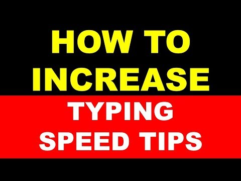 How to increase typing speed some tips in hindi by swapnil for competitive exams