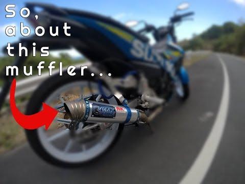 Motovlog # 25: Reason why I'm not using my VMAX Racing Muffler anymore...