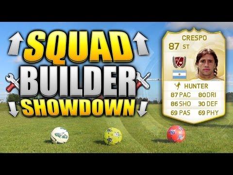 REAL LIFE FOOTBALL SQUAD BUILDER SHOWDOWN!!! LEGEND CRESPO!!! Fifa 15 Squad Builder Duel