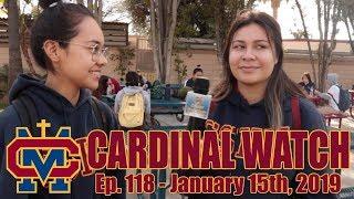 Cardinal Watch: ep. 118 - January 15th, 2019