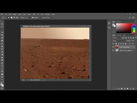 Photoshop Tutorial for Beginners - 07 - Combine two photos using masks