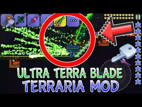 ULTRA TERRA BLADE MOD/HACK!! Terraria iOS/Android 1.2.4 Item Modding for 2017