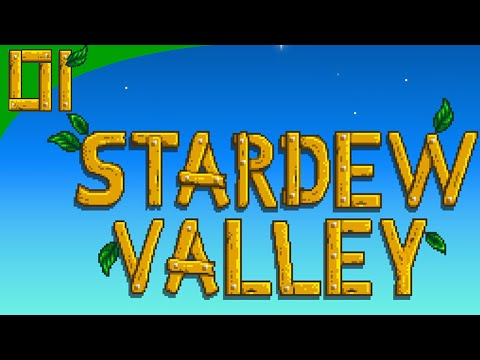 Stardew Valley | Episode 1 | Introductions - Meeting Everybody!