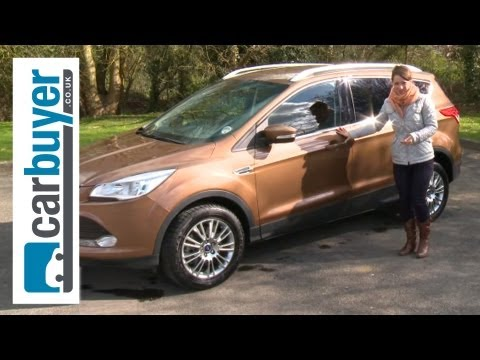 Ford Kuga SUV 2013 review - CarBuyer