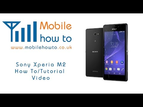 How To Sync Contacts With Google - Sony Xperia M2